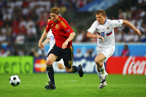Spain vs Russia match