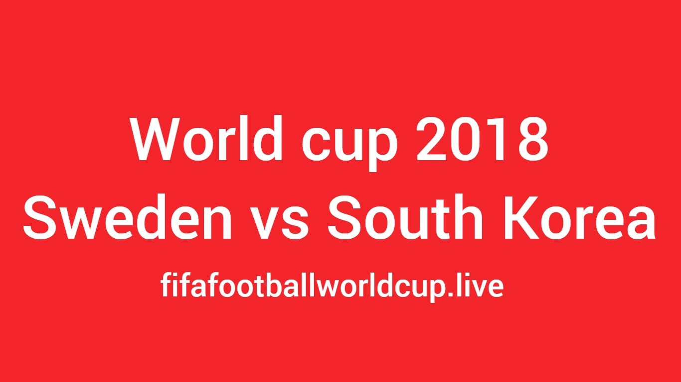 Sweden vs south korea football team