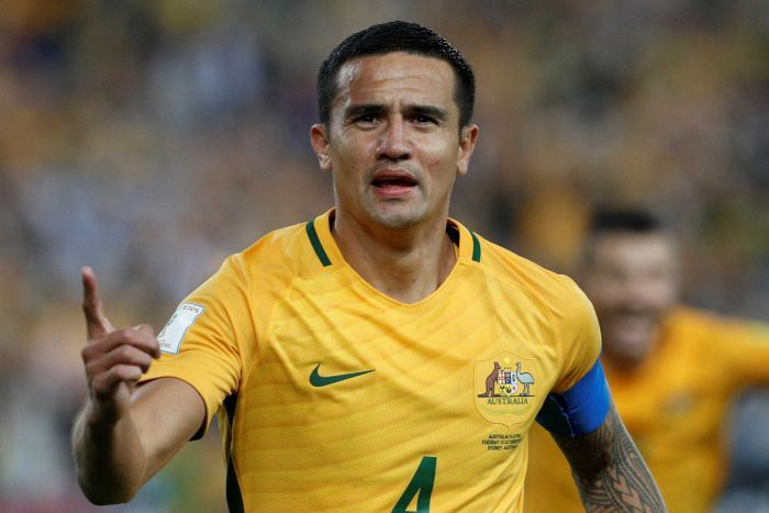 Tim Cahill pick in fourth streight world cup squad for australia