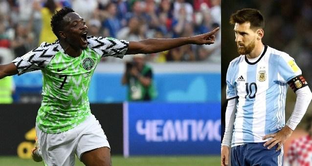 argentina vs nigeria clash