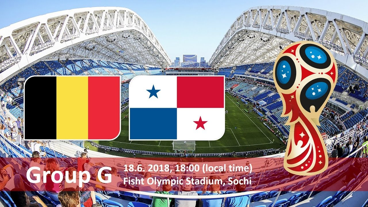 belgium vs panama 2018 world cup football Game of 18 June