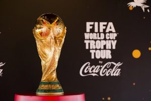 Fifa World cup Trophy Tour comes to Moscow after a long Journey