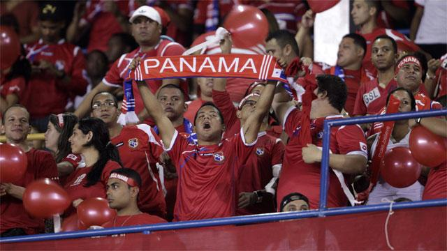 panama football fans cheer in world cup tournament