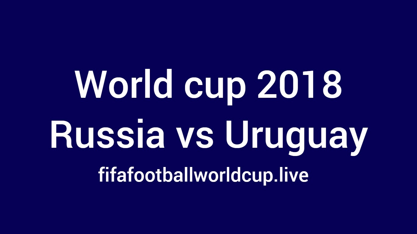 russia vs uruguay football match