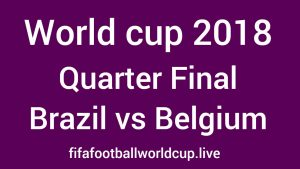 Brazil vs Belgium Head to Head, Past Matches Result