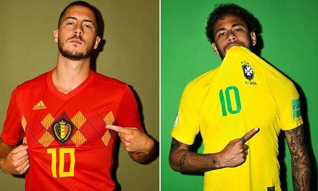 Brazil vs Belgium world cup quarter final