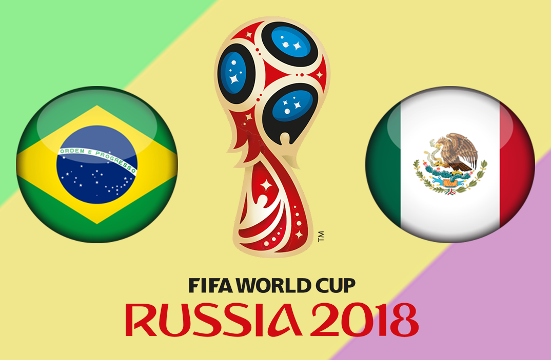 Brazil vs Mexico round of 16 world cup match prediction