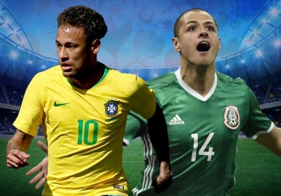 Brazil vs mexico head to head battle