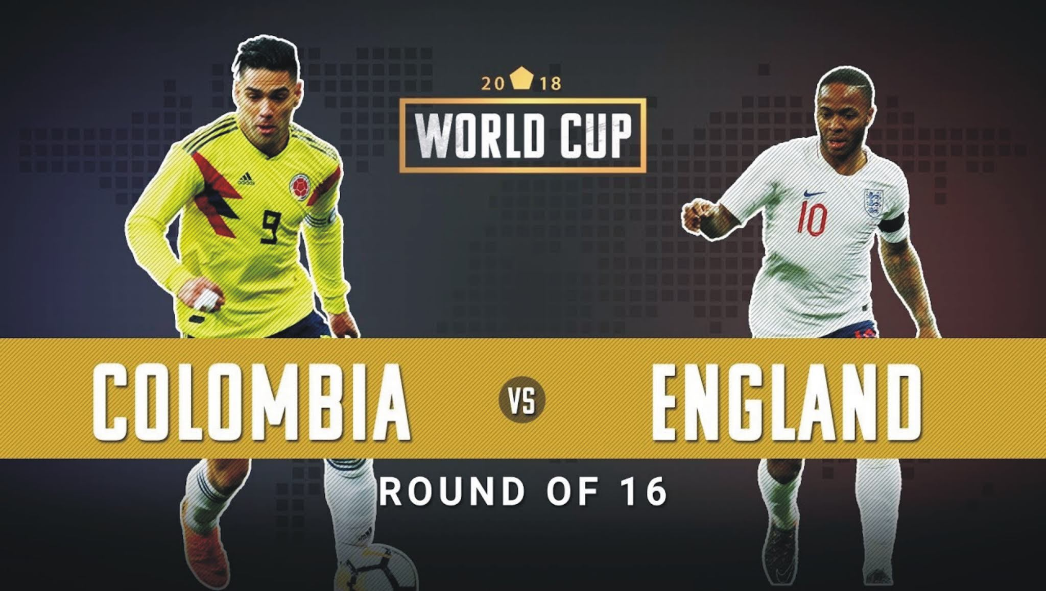 Colombia vs England