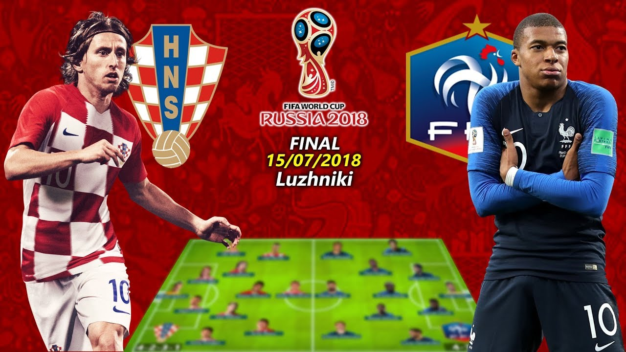 Croatia vs France fifa world cup final match