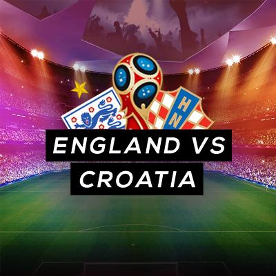 England vs Croatia semi final Football Match