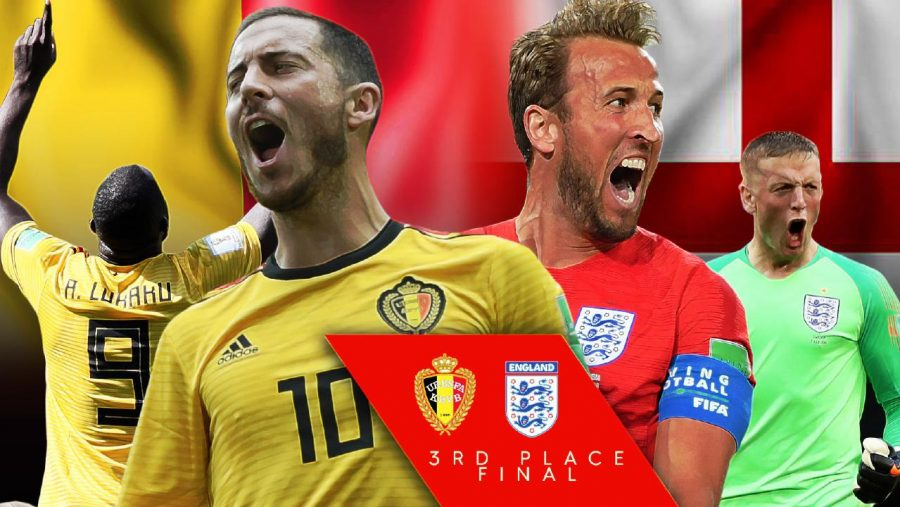 Fifa world cup 2018 Third place match of england vs belgium 14 July