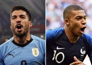 France vs Uruguay Head to Head, Football Rivalry, Past Results