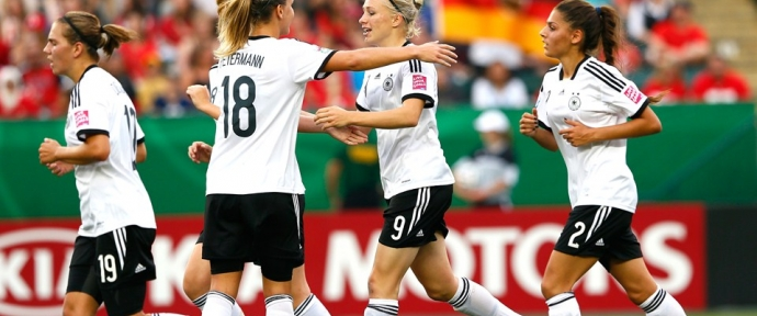 Germany U-20 Womens players ready for the World cup 2018 France