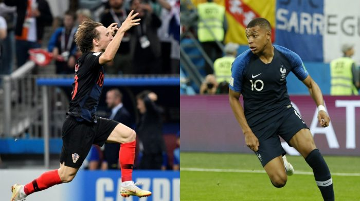 World cup final france vs croatia